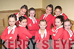 COMPETITION: Shiva group who entertained in the HIp Hop Dancing Competition in the Brandon Hotel, Tralee on Sunday. Front l-r: Emma Stretch,Sinead Brosnan,Maggie Lynch,Danielle Horgan and Michelle Hennessy. Back l-r: Leonie O'Connor,Amy Duggan,Norma O'Connor and Katie O'Carroll.   Copyright Kerry's Eye 2008
