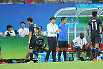Makoto Teguramori (JPN), <br /> AUGUST 4, 2016 - Football / Soccer : <br /> Men's First Round Group B <br /> between Nigeria 5-4 Japan <br /> at Amazonia Arena <br /> during the Rio 2016 Olympic Games in Manaus, Brazil. <br /> (Photo by YUTAKA/AFLO SPORT)