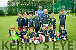 Under 8's enjoying the St Pats Blennervile  Cul Camp on Tuesday