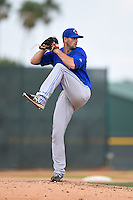 Toronto Blue Jays pitcher Brady Dragmire (41) during a minor league spring training game against the Pittsburgh Pirates on March 26, 2015 at Pirate City in Bradenton, Florida.  (Mike Janes/Four Seam Images)
