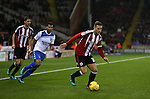 Billy Sharp of Sheffield Utd during the English League One match at the Bramall Lane Stadium, Sheffield. Picture date: November 22nd, 2016. Pic Simon Bellis/Sportimage