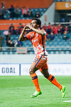 Jeju United Forward Magno Da Cruz celebrating his score during the AFC Champions League 2017 Group Stage - Group H match between Jeju United FC (KOR) vs Adelaide United (AUS) at the Jeju World Cup Stadium on 11 April 2017 in Jeju, South Korea. Photo by Marcio Rodrigo Machado / Power Sport Images