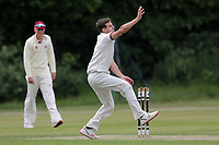 Nick Winter of Brentwood during Brentwood CC vs Ilford CC, Shepherd Neame Essex League Cricket at The Old County Ground on 8th June 2019