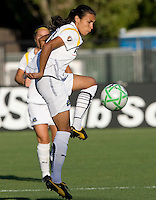 23 July 2009:  Marta of the Los Angeles Sol in action during the first half of the game against FC Gold Pride at Buck Shaw Stadium in Santa Clara, California.   FC Gold Pride tied Los Angeles Sol, 0-0.