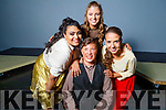 Back stage in Siamsa Tire at the Mercy Mounthawk production of Hairspray on Saturday<br /> Kneeling Eoin Griffin, <br /> Back l to r: Ciara Samy, Sarah Egan, Keela Hughes.