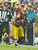 Washington Redskins wide receiver Pierre Garcon (88) carries the ball after making a reception in the second quarter against the Buffalo Bills at FedEx Field in Landover, Maryland on Friday, August 26, 2016.  The Redskins won the game 21 - 16.<br /> Credit: Ron Sachs / CNP