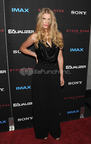 New York, NY-September 22: Alexandria Morgan attends a special screening of The Equalizer at the AMC Lincoln Square 13 IMAX on September 22, 2014 in New York City.  Credit: John Palmer/MediaPunch