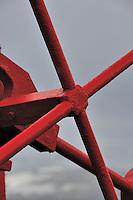Gear III - Detail of the MV Ushuaia's deck gear.