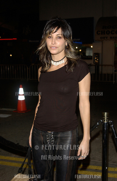 Actress GINA GERSHON at the premiere, in Los Angeles, of The Ring..09OCT2002.  © Paul Smith / Featureflash