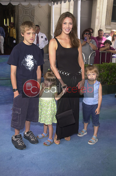 Hunter Tylo and kids