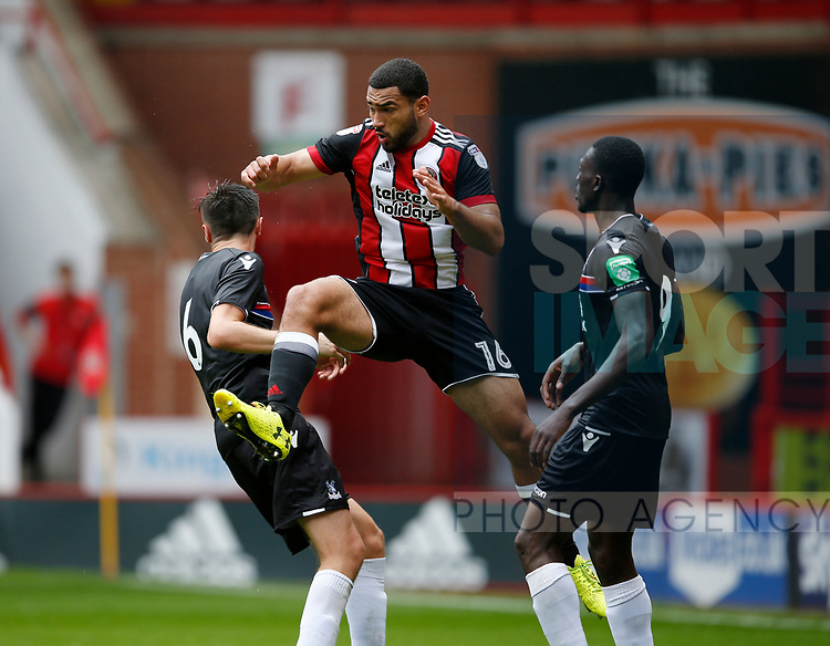 Cameron Carter-Vickers of Sheffield Utd during the Professional Development U23 match at Bramall Lane, Sheffield. Picture date 4th September 2017. Picture credit should read: Simon Bellis/Sportimage
