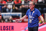 18.01.2020., Austria, Vienna, Wiener Stadthalle - European Handball Championship, Group I, Round 2, Croatia - Germany. German coach Lino Cervar<br /> <br /> Foto © nordphoto / Luka Stanzl/PIXSELL
