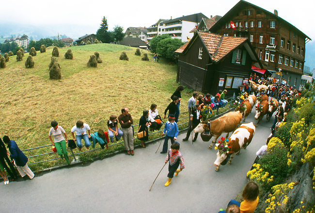 Folk Festival, Wengen, Switzerland