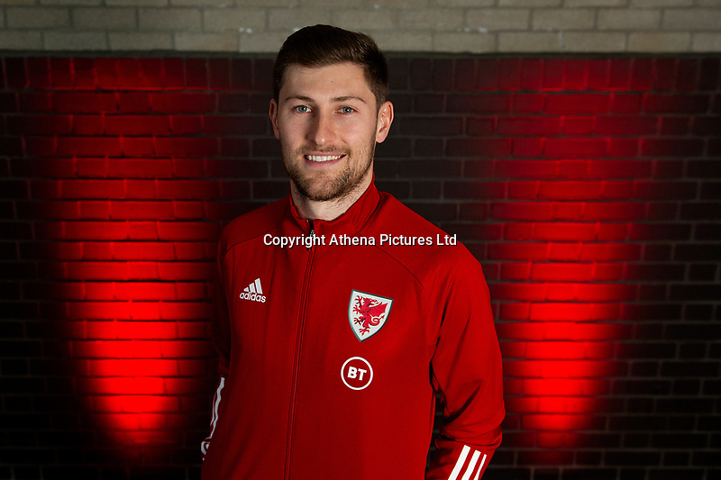 Ben Davies of Wales poses for a photo at St Fagans National Museum of History in Cardiff, Wales, UK. Tuesday 12th November 2019