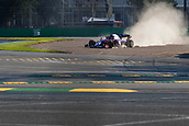 17th March 2019, Melbourne Grand Prix Circuit, Melbourne, Australia; Melbourne Formula One Grand Prix, race day; The number 23 Red Bull Toro Rosso Honda driver Alexander Albon during the race