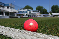 The pink ball by the boundary during Essex CCC vs Somerset CCC, Specsavers County Championship Division 1 Cricket at The Cloudfm County Ground on 27th June 2018