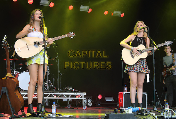 GREAT TEW, OXFORD, ENGLAND - Ward Thomas at the Cornbury Music Festival held at Great Tew Park, on July 10th, 11th and 12th 2015 in Oxford, England<br /> <br /> CAP/ROS<br /> &copy;ROS/Capital Pictures