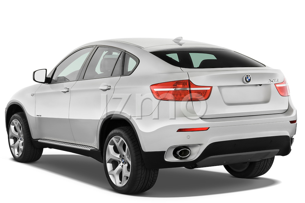 Rear three quarter view of a 2008 BMW X6 Sports Activity Vehicle