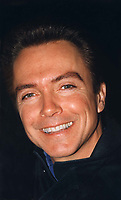 """DAVID CASSIDY<br /> TV STAR OF """"THE PARTRIDGE FAMILY""""  CURRENTLY IS A SINGER<br /> 1995<br /> BALTIMORE MARYLAND"""