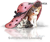 Marcello, REALISTIC ANIMALS, REALISTISCHE TIERE, ANIMALES REALISTICOS, paintings+++++,ITMCEDC1041A,#A# ,cats ,kittens