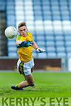 Deividas Uosis Kerry in action against  Louth in the All Ireland Minor Football Quarter Finals at O'Moore Park, Portlaoise on Saturday.