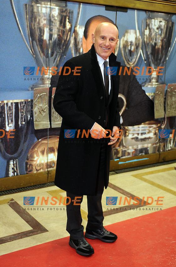 Arrigo SACCHI<br /> Milano, 13/03/2011 Teatro Manzoni<br /> 25&deg; anniversario di presidenza Berlusconi al Milan<br /> Campionato Italiano Serie A 2010/2011<br /> Foto Nicolo' Zangirolami Insidefoto