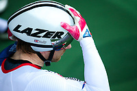 Picture by Alex Whitehead/SWpix.com - 24/03/2018 - Cycling - 2018 UCI Para-Cycling Track World Championships - Rio de Janeiro Municipal Velodrome, Barra da Tijuca, Brazil - Jody Cundy of Great Britain prepares to compete in the Men's C4 Individual Pursuit qualifying.