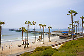 San Clemente Pier, Orange County, California, USA