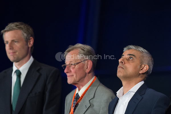 Sadiq Khan, the new London Mayor, reacts at the results announcement in London's City Hall, May 06, 2016. <br /> CAP/CAM<br /> &copy;CAM/Capital Pictures /MediaPunch ***NORTH AMERICAN AND SOUTH AMERICAN SALES ONLY***