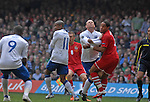 260311 Wales v England Euro 2012 Qualifying Match