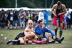 © Joel Goodman - 07973 332324 . . 12/06/2016 . Manchester , UK . Revellers at the Parklife music festival at Heaton Park in Manchester . Photo credit : Joel Goodman