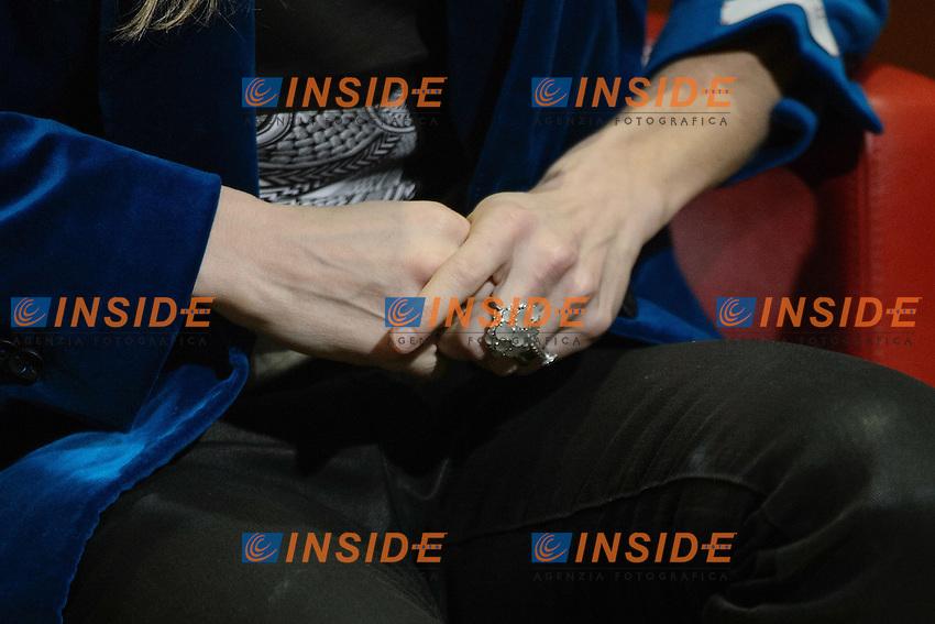 Opera de Paris dancer Eleonora Abbagnato -  Anello <br /> Roma 09-01-2014 Auditorium Parco della Musica <br /> Press conference <br /> Foto Andrea Staccioli / Insidefoto