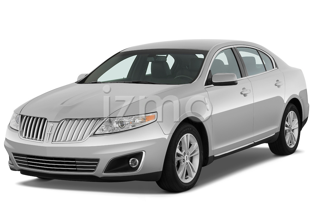 Front three quarter view of a 2010 Lincoln MKS FWD.
