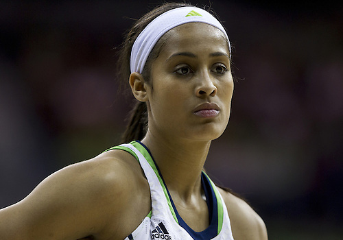 December 05, 2012:  Notre Dame guard Skylar Diggins (4) during NCAA Women's Basketball game action between the Notre Dame Fighting Irish and the Baylor Bears at Purcell Pavilion at the Joyce Center in South Bend, Indiana.  Baylor defeated Notre Dame 73-61.
