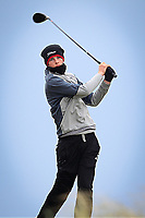 Luke O'Neill (Connemara) on the 6th tee during the Final Round of the Connacht U18 Boys Open 2018 on Carne Golf Links at Belmullet Golf Club on Sunday 6th April 2018.<br /> Picture:  Thos Caffrey / www.golffile.ie<br /> <br /> All photo usage must carry mandatory copyright credit (&copy; Golffile | Thos Caffrey)