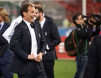 Massimiliano Allegri coach of Juventus  at the end  the  Coppa Italia ( Tim Cup) final soccer match,  Ac Milan  - Juventus Fc       at  the Stadio Olimpico in Rome  Italy , 09 May 2018