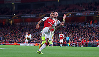 Theo Walcott of Arsenal during the UEFA Europa League match between Arsenal and FC Koln at the Emirates Stadium, London, England on 14 September 2017. Photo by Andrew Aleks.