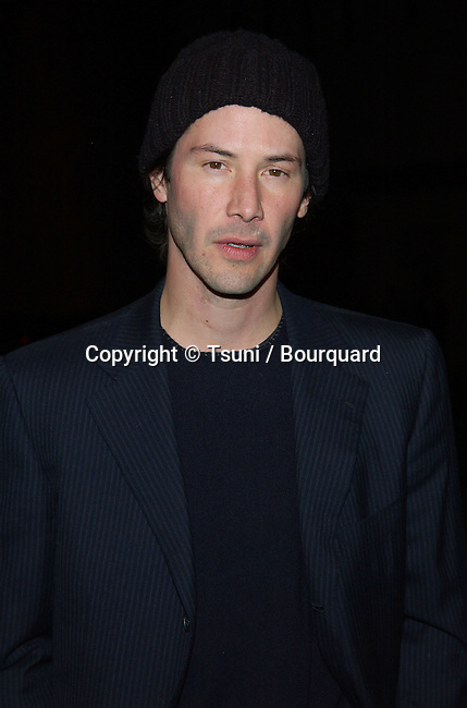 "Keanu Reeves arriving at the premiere of ""Enter The Matrix"" a groundbreaking Animeted Short. February 4, 2003          -            ReevesKeanu13.jpg"