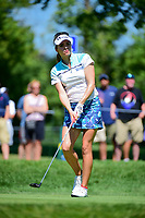 Gaby Lopez (MEX) watches her tee shot on 2 during Saturday's round 3 of the 2017 KPMG Women's PGA Championship, at Olympia Fields Country Club, Olympia Fields, Illinois. 7/1/2017.<br /> Picture: Golffile | Ken Murray<br /> <br /> <br /> All photo usage must carry mandatory copyright credit (&copy; Golffile | Ken Murray)