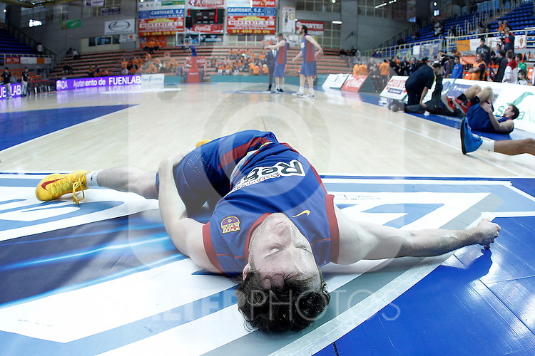 FC Barcelona Regal's Marcelinho Huertas during Liga Endesa ACB match.November 18,2012. (ALTERPHOTOS/Acero)