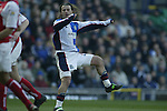 Tugay of Blackburn scores a goal - Blackburn Rovers v Arsenal - Premier League - Ewood Park Stadium - Blackburn - 15th March 2003 - Pics Simon Bellis