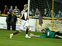 20/09/2006        Copyright Pic: James Stewart.File Name : sct_jspa09_alloa_v_hearts.JUHO MAKELA SCORES HEARTS SECOND......Payments to :.James Stewart Photo Agency 19 Carronlea Drive, Falkirk. FK2 8DN      Vat Reg No. 607 6932 25.Office     : +44 (0)1324 570906     .Mobile   : +44 (0)7721 416997.Fax         : +44 (0)1324 570906.E-mail  :  jim@jspa.co.uk.If you require further information then contact Jim Stewart on any of the numbers above.........