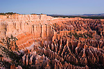 Bryce Canyon National Park, Grottos, hoodoos and ampitheater from Bryce Point, dawn, erosion, arid, Utah, UT, Southwest America, American Southwest, US, United States, Image ut351-17561, Photo copyright: Lee Foster, www.fostertravel.com, lee@fostertravel.com, 510-549-2202