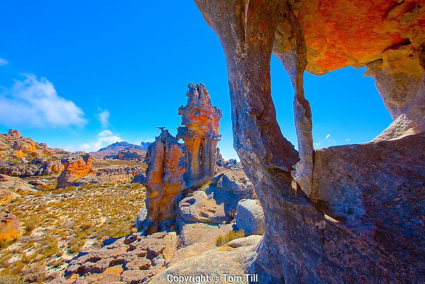 Rock forms in the Cederbergs   Cederberg Wilderness, South Africa  UNESCO World Heritage Site   Northern Cape Area