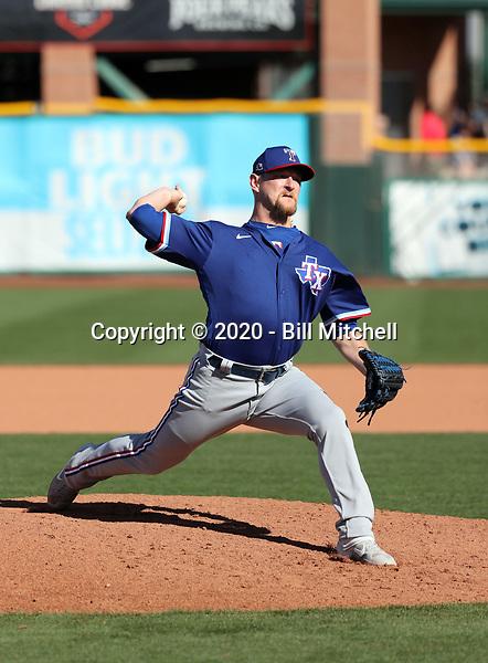Austin Bibens-Dirkx - Texas Rangers 2020 spring training (Bill Mitchell)