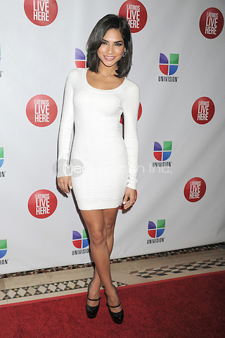 NEW YORK, NY - MAY 15: Alejandra Espinoza attends the Univision Upfront 2012 reception at Cipriani 42nd Street on May 15, 2012 in New York City.. Credit: Dennis Van Tine/MediaPunch