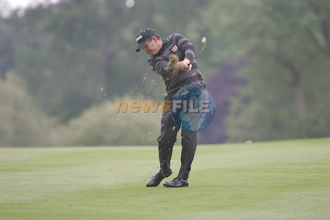 David Frost plays his 2nd shot from the fairway on the1st hole during the final round of the 2008 Irish Open at Adare Manor Golf Resort, Adare,Co.Limerick, Ireland 18th May 2008 (Photo by Eoin Clarke/GOLFFILE)