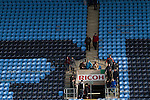 Coventry City 1 Birmingham City 1, 10/03/2012. Ricoh Arena, Championship. The last of the home fans leaving the stadium at the Ricoh Arena, as Coventry City hosted Birmingham City in an Npower Championship fixture. The match ended in a one-all draw, watched by a crowd of 22,240. The Championship was the division below the top level of English football. Photo by Colin McPherson.