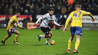 Bolton Wanderers' Yanic Wildschut breaks<br /> <br /> Photographer Andrew Kearns/CameraSport<br /> <br /> The EFL Sky Bet Championship - Bolton Wanderers v Leeds United - Saturday 15th December 2018 - University of Bolton Stadium - Bolton<br /> <br /> World Copyright &copy; 2018 CameraSport. All rights reserved. 43 Linden Ave. Countesthorpe. Leicester. England. LE8 5PG - Tel: +44 (0) 116 277 4147 - admin@camerasport.com - www.camerasport.com