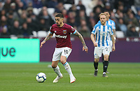 West Ham United's Manuel Lanzini<br /> <br /> Photographer Rob Newell/CameraSport<br /> <br /> The Premier League - West Ham United v Huddersfield Town - Saturday 16th March 2019 - London Stadium - London<br /> <br /> World Copyright © 2019 CameraSport. All rights reserved. 43 Linden Ave. Countesthorpe. Leicester. England. LE8 5PG - Tel: +44 (0) 116 277 4147 - admin@camerasport.com - www.camerasport.com